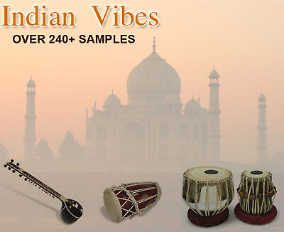 - Indian Vibes - Sample CD WAV - Ethnic Indian Loops & Instruments