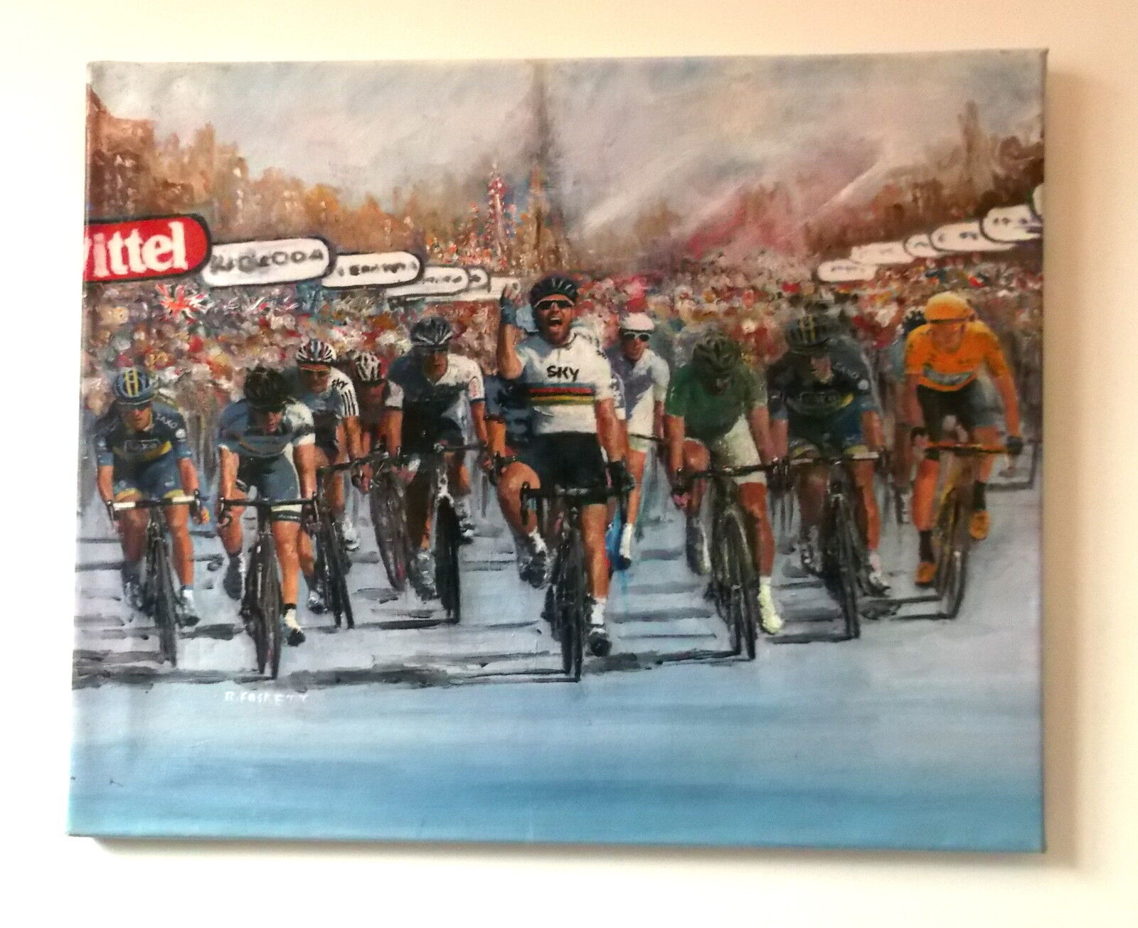 CYCLING PAINTINGS