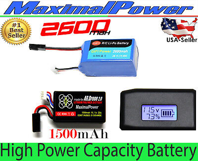 Replacement Li-Po Battery For PARROT AR.DRONE 2.0 & POWER EDITION