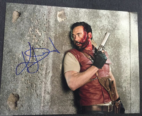Resident Evil Kevin Durand Autographed Signed 11x14 Photo COA C