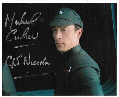 "Michael Culver ""STAR WARS""  Capt. Needa 10"" x 8"" Signed Autograph rare 22108"