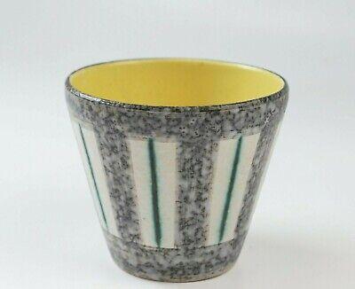 cache-pot vintage années 50 / 60 céramique mid-century modern flower-pot holder