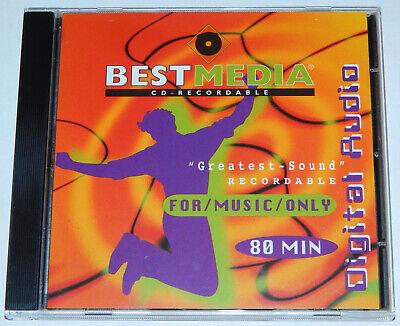 Audio-CD Rohling Medium Bestmedia Digital Audio Music only 80 Minuten Min CD-R