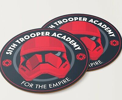 Star Wars Fridge Magnet (Star Wars Inspired Sith Trooper Academy 4 inch round Car/fridge Magnet, SDCC )