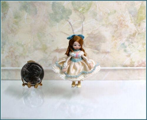 Dollhouse Miniature Ethel Hicks Margaret Angel Children Doll
