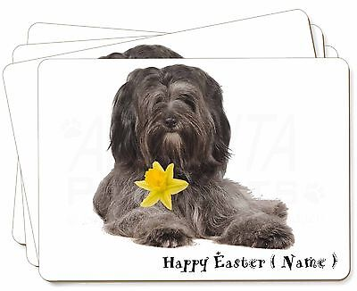 Personalised Tibetan Terrier Picture Placemats in Gift Box, AD-TT2DA2P
