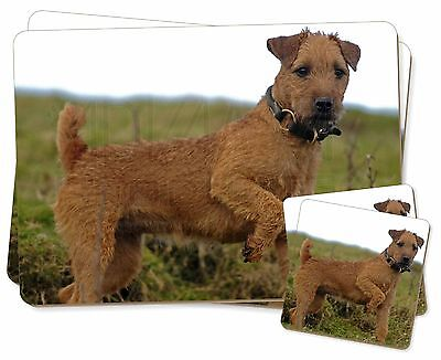Lakeland Terrier Dog Twin 2x Placemats+2x Coasters Set in Gift Box, AD-LT1PC