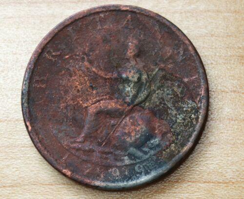 1799 Great Britain Half Penny