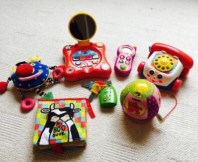 Mixed bundle of toddler baby toys