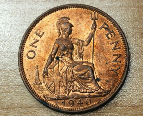 1940 Great Britain 1 Penny