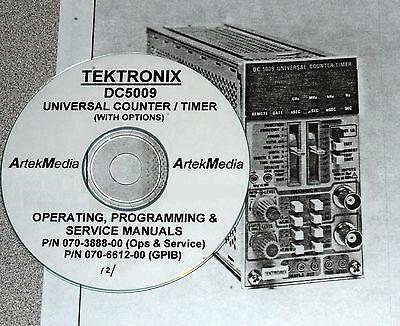 Tek Dc5009 Counter Ops Program Service Manual 2 Vol.