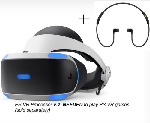 """(Not full set) """"ONLY Replacement Headset v2"""" New PS4 VR PSVR Sony PlayStation 4"""
