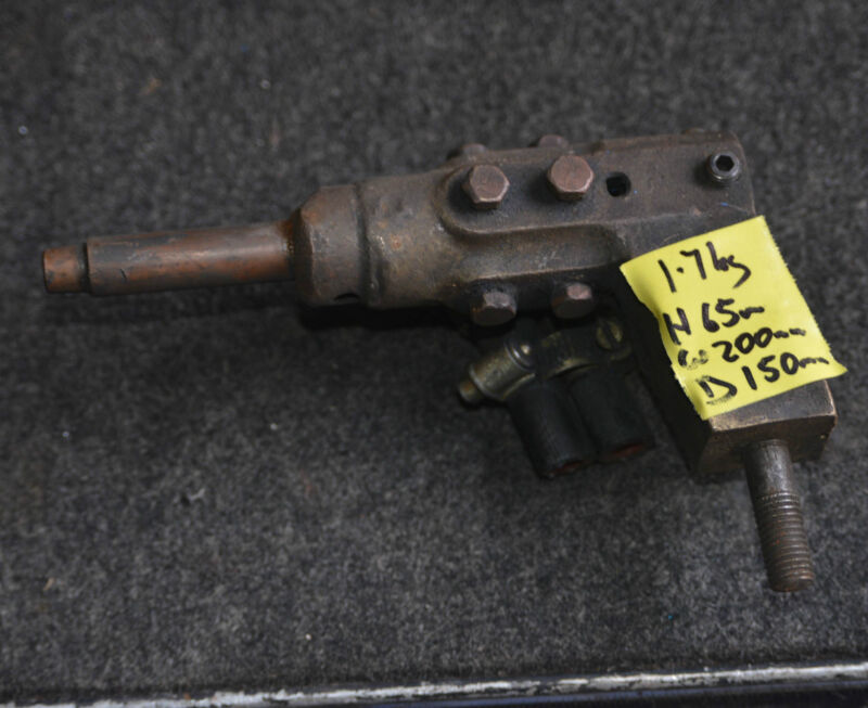 Water cooled copper electrode holder from spot welder weld