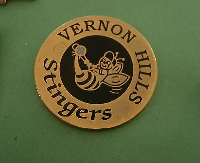 Girls Stinger Softball - Vernon Hills Stingers Fastpitch Softball (Girls) Lapel Pin