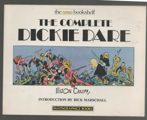 The Complete Dickie Dare Milton Caniff - Fantagraphic Books Softcover