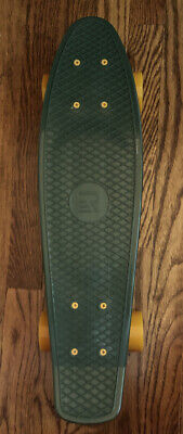 green and orange penny board