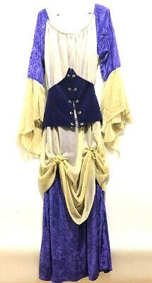 Renaissance Kostüm Lila Gold Korsett Leverage Tv-Show Kleidung - Renaissance Korsetts