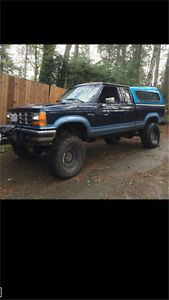 1989 ford ranger solid axle swapped