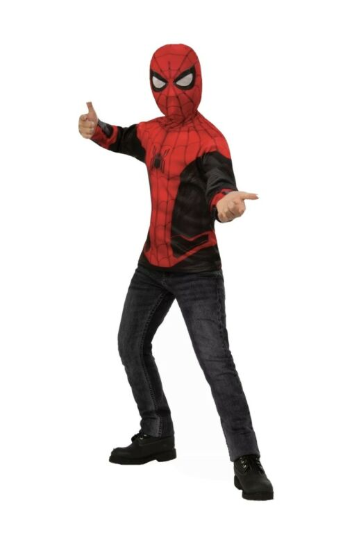 Rubies Marvel Spider-Man Far From Home Childs Costume Top & Mask, Medium