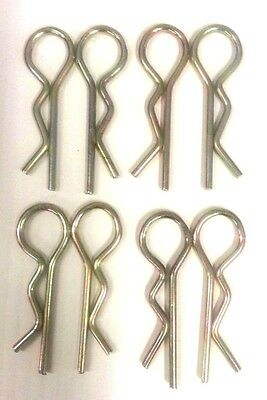Lynch Pin Lot8 - 3mm 3mm X 2 12 Tractor 3 Point Implement Clip Pin Attachment