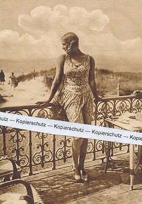 Helene Meyer aus Offenbach - Olympiasiegierin Fechten -  um 1925 -     I 23-16