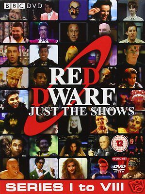 Red Dwarf The Complete Series 1-8 [BBC] (DVD)~~~~~10 Disc Set~~~~~NEW