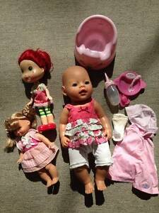 Dolls - Baby Born, Strawberry Shortcake... Wahroonga Ku-ring-gai Area Preview