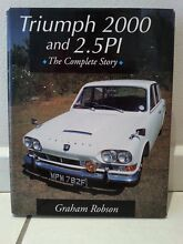 Triumph 2000 and 2.5PI (the complete story) by Graham Robson Darwin CBD Darwin City Preview