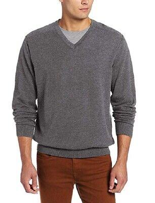 Cutter & Buck Mens Long Sleeve V Neck Pullover Sweater (Cutter & Buck V-neck Pullover)