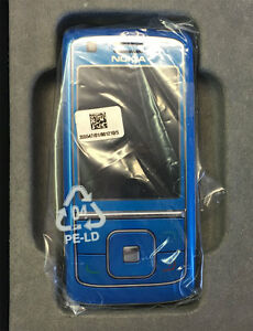 Nokia  6288 - Blau -sehr selten! Neuware (Ohne Simlock) Handy