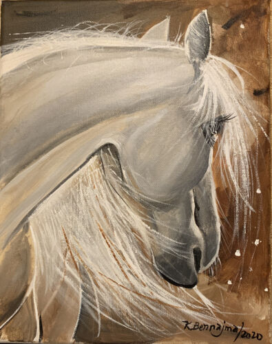 Original Signed Oil On Canvas Paintings - $120.00