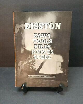 1940 Henry Disston & Sons Saws Tools Files Knives Catalog - 100 Anniversary
