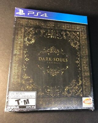 Dark Souls Trilogy [ 3 Game Disc in 1 STEELBOOK ]  (PS4) NEW comprar usado  Enviando para Brazil