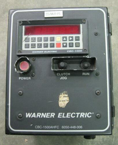 Warner Electric CBC-1500AHFC Clutch Brake 6050-448-006