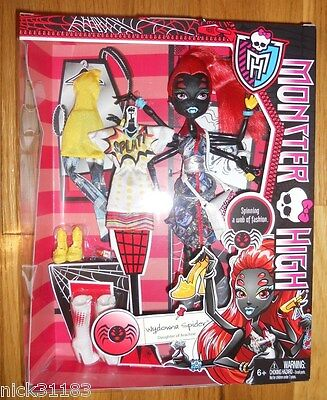 MONSTER HIGH WYDOWNA SPIDER I HEART FASHION WEBARELLA TOYS R US EXCLUSIVE