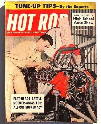 Vtg Hot Rat Rod Car Magazine November 1955 HOT ROD (Better Brakes For Your