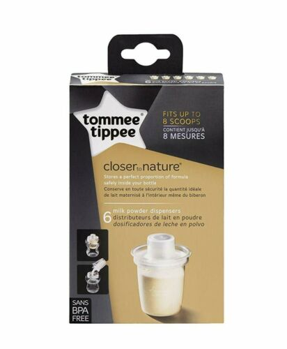Tommee Tippee Baby Milk Powder and Formula Dispensers - Travel Storage Container