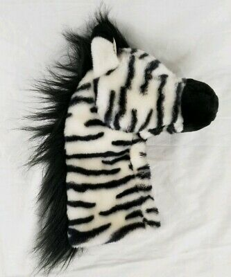 Daphne's Black & White Zebra Headcover Driver Golf Head Cover FREE SHIPPING! Zebra Golf Headcover