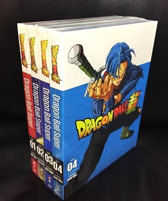 DRAGON BALL Z SUPER Part 1 & 2 & 3 & 4 Bundle Combo Set DVD NEW!!
