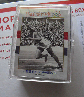 Set of 1991 Impel US Olympic Hall of Fame Cards 90