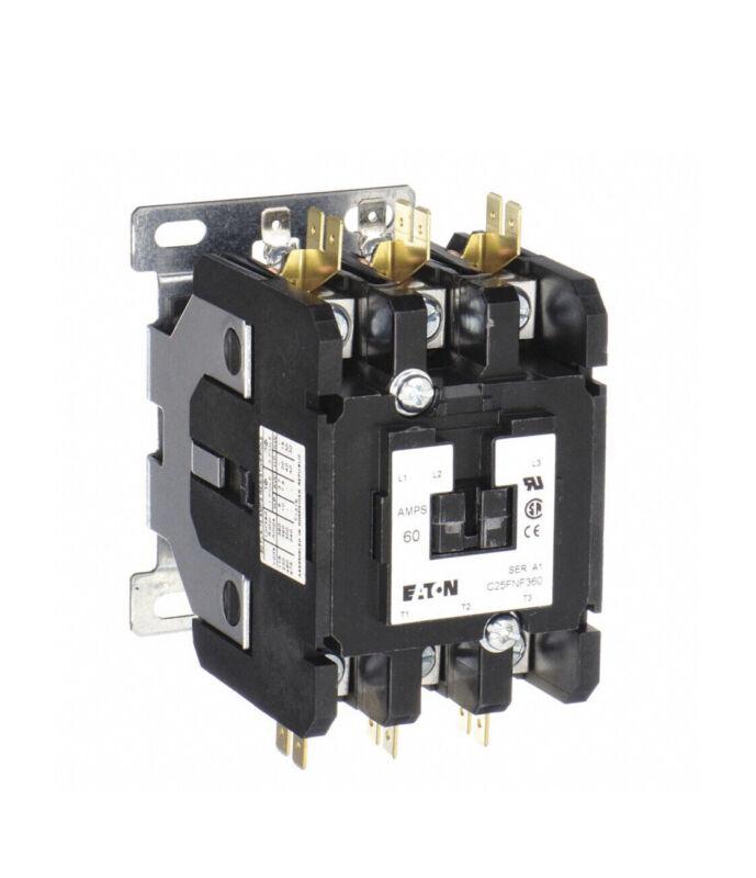 75A Contactor; No. of Poles 3 75 Full Load Amps-Inductive, 120 Coil