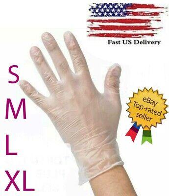 Disposable Vinyl Gloves Powder-free Latex-free Non-sterile - S M L Xl
