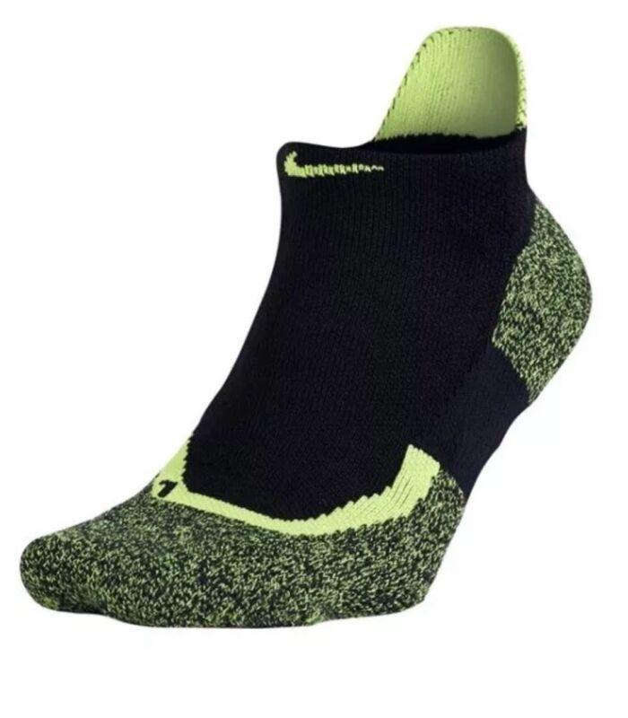 Nike Dri-Fit Elite No-Show Tennis Socks Style SX4987-011 Size S 4-6 (3Y-5Y) *