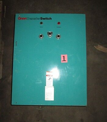 Used Onan Lteu 30l 107h Generator Automatic Transfer Switch 30 Amp 120vac 40