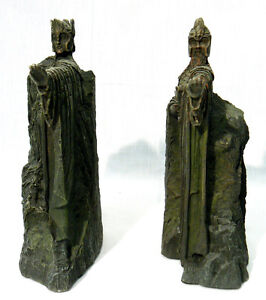 Lord of the rings lotr 6 argonath bookends sideshow weta workshop 2002 w box ebay - Argonath bookends ...