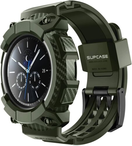 For Galaxy Watch 3 2020 [45mm] SUPCASE [UBPro] Rugged Protective Case (Green)