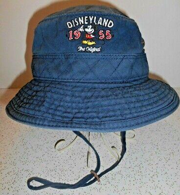 9a2f4341c0c95e Disneyland 1955 The Original Blue Cotton Boonie Booney Giggle Bucket Hat  2-6X
