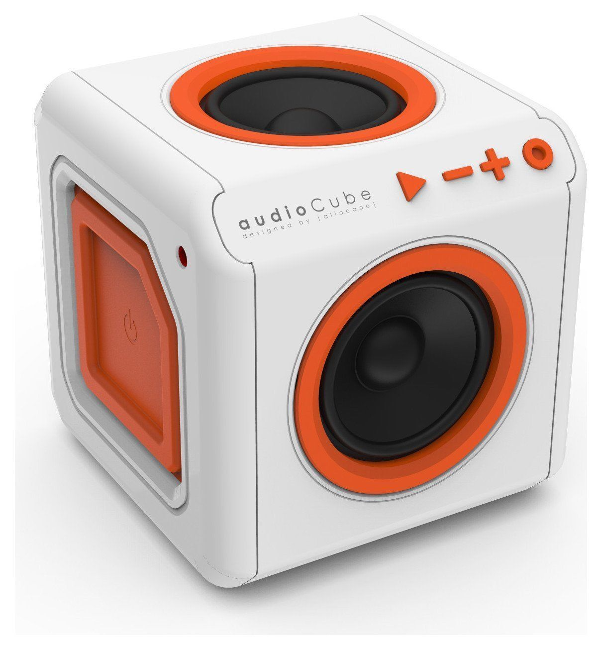 Audiocube Portable Wireless Bluetooth Speaker Rechargeable. Aux For Smartphone.