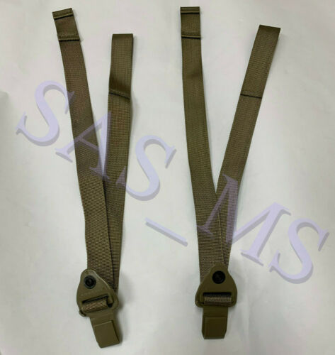 2 OCP MULTICAM W2 MOLLE MALE BUCKLE QUICK RELEASE REPLACEMENT SHOULDER STRAPS