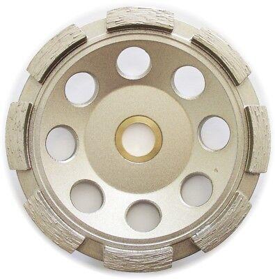 4.5 Single Row Concrete Diamond Grinding Cup Wheel - 78-58 Arbor